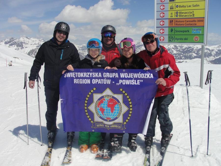 Narty w kurorcie narciarskim Livigno we Włoszech