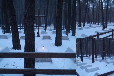 Zakończenie prac na cmentarzu wojennym w Osowie