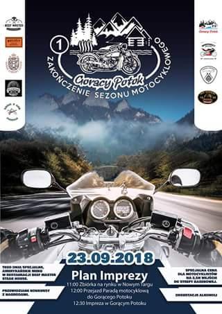 Gorący Potok – zakończenie sezonu motocyklowego