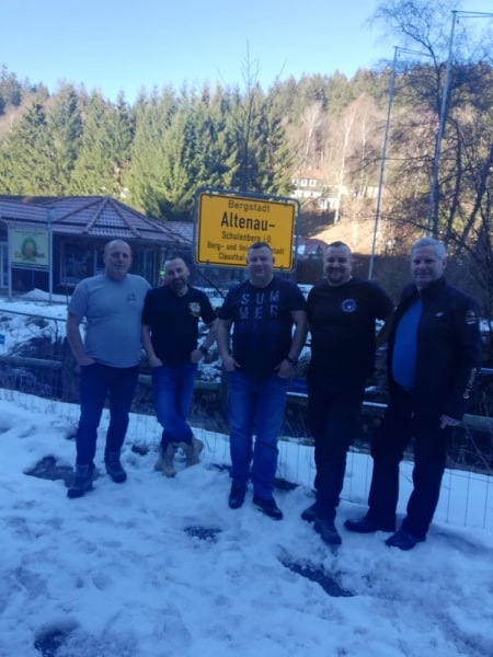 Spotkanie Bractwa Motocyklowego w Altenau
