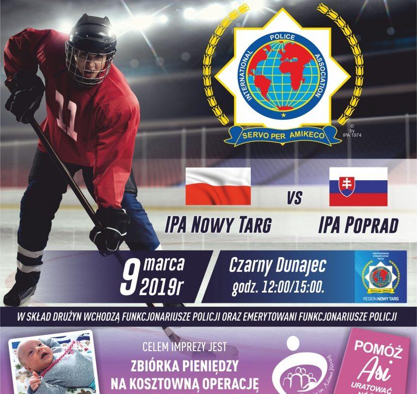 Mecz charytatywny w hokeja