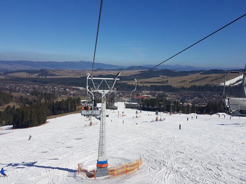 Zaproszenie na narty w Zębie
