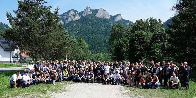Członkowie IPA Włodawa  na  VI Krajoznawczym Rajdzie Motocyklowym SPISZ 2019