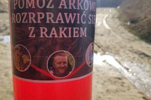 """Członkowie IPA Włodawa w akcji """"Pomóż Arkowi rozprawić się z rakiem"""""""