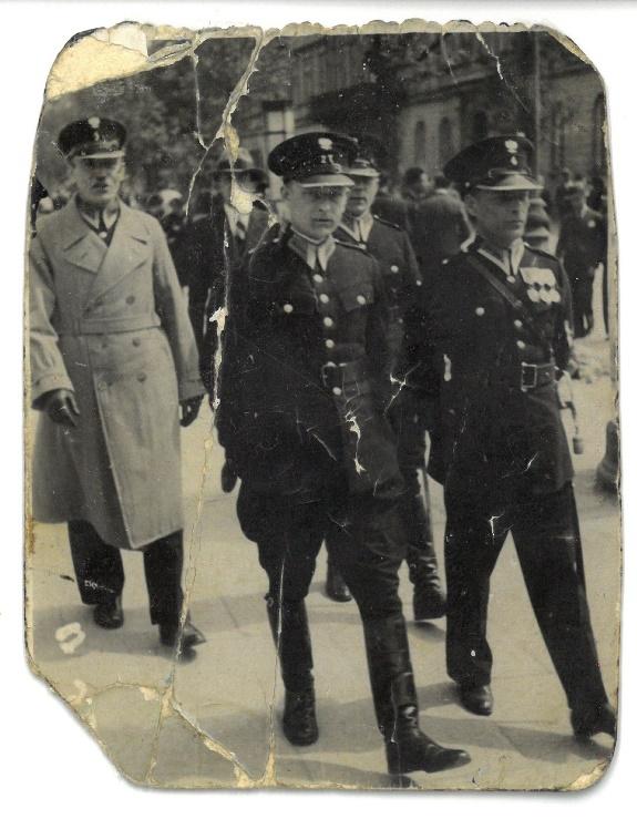 Pamięci Bolesława Rybczyńskiego funkcjonariusza Policji Państwowej z Lublina.