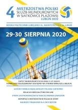 Zaproszenie na IV Mistrzostwa Polski Służb Mundurowych w Siatkówce Plażowej