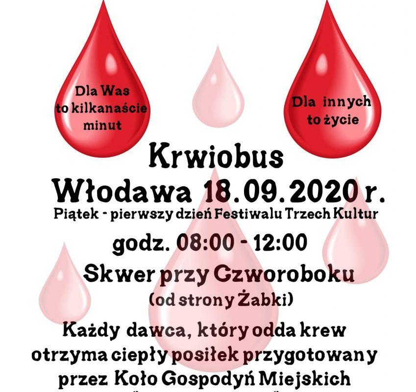 Nie bądź żyła! Podziel się krwią :)