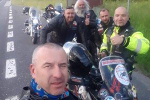 Rekordziści jadą dla Marysi – motocyklem dookoła Polski.