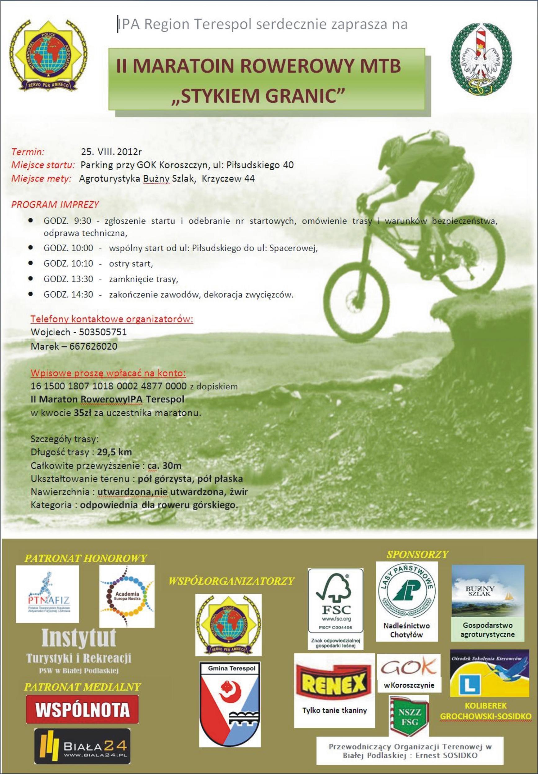 Maraton III edycja IPA Region  Terespol