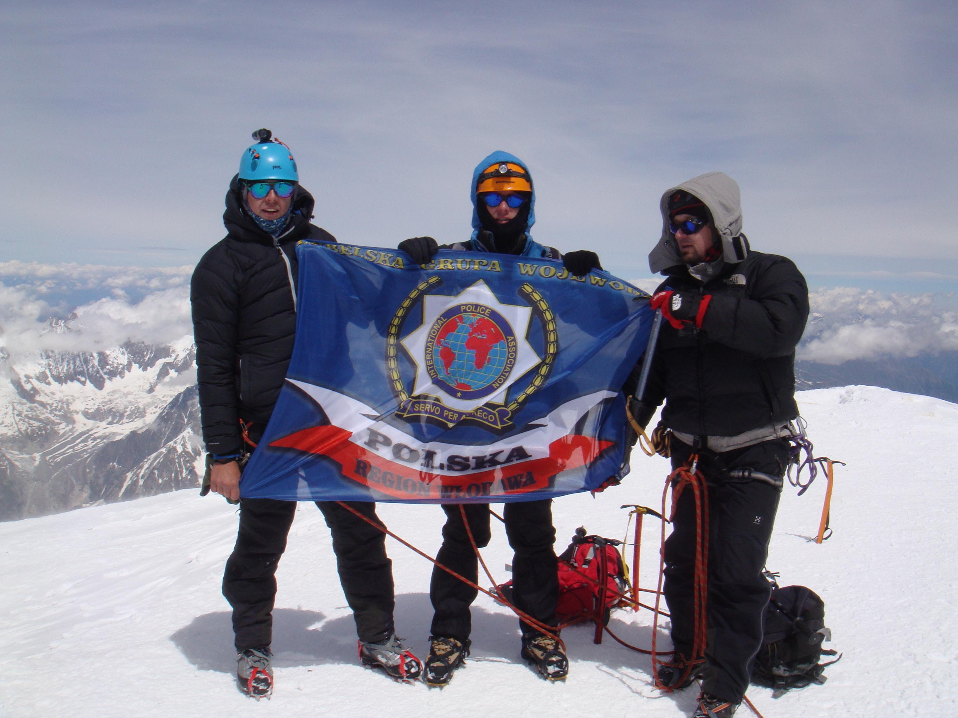 Wyprawa na Mont Blank – pasje naszych kolegów. Sebastian
