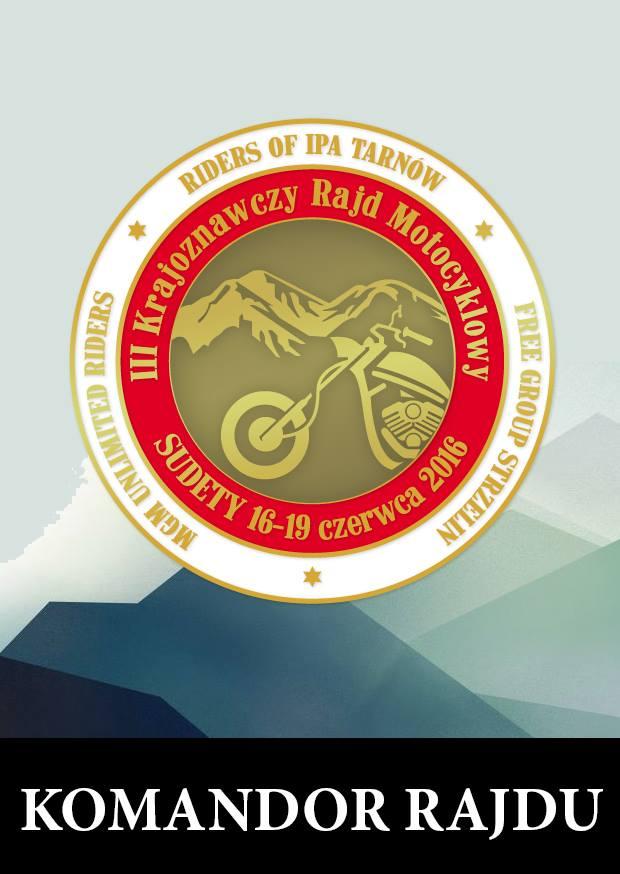 III Krajoznawczy Rajd Motocyklowy Sudety 2016