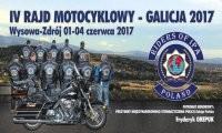 Zaproszenie na IV KRAJOZNAWCZY RAJD MOTOCYKLOWY – GALICJA- 2017