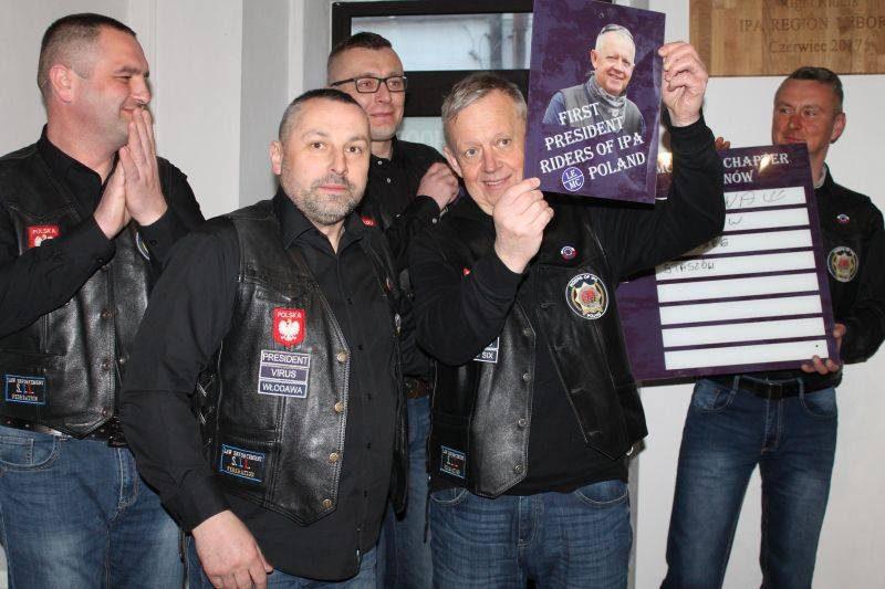 OTWARCIE CLUBHOUSE RIDERS of IPA LEMC POLAND chapter TARNÓW