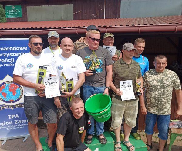 II miejsce w zawodach wędkarskich dla drużyny IPA Włodawa