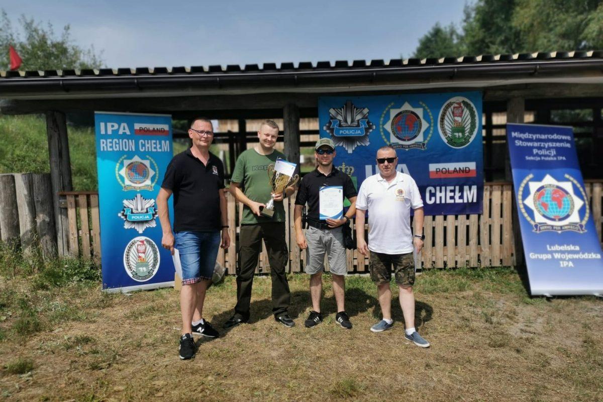 I miejsce w zawodach strzeleckich dla drużyny IPA Włodawa